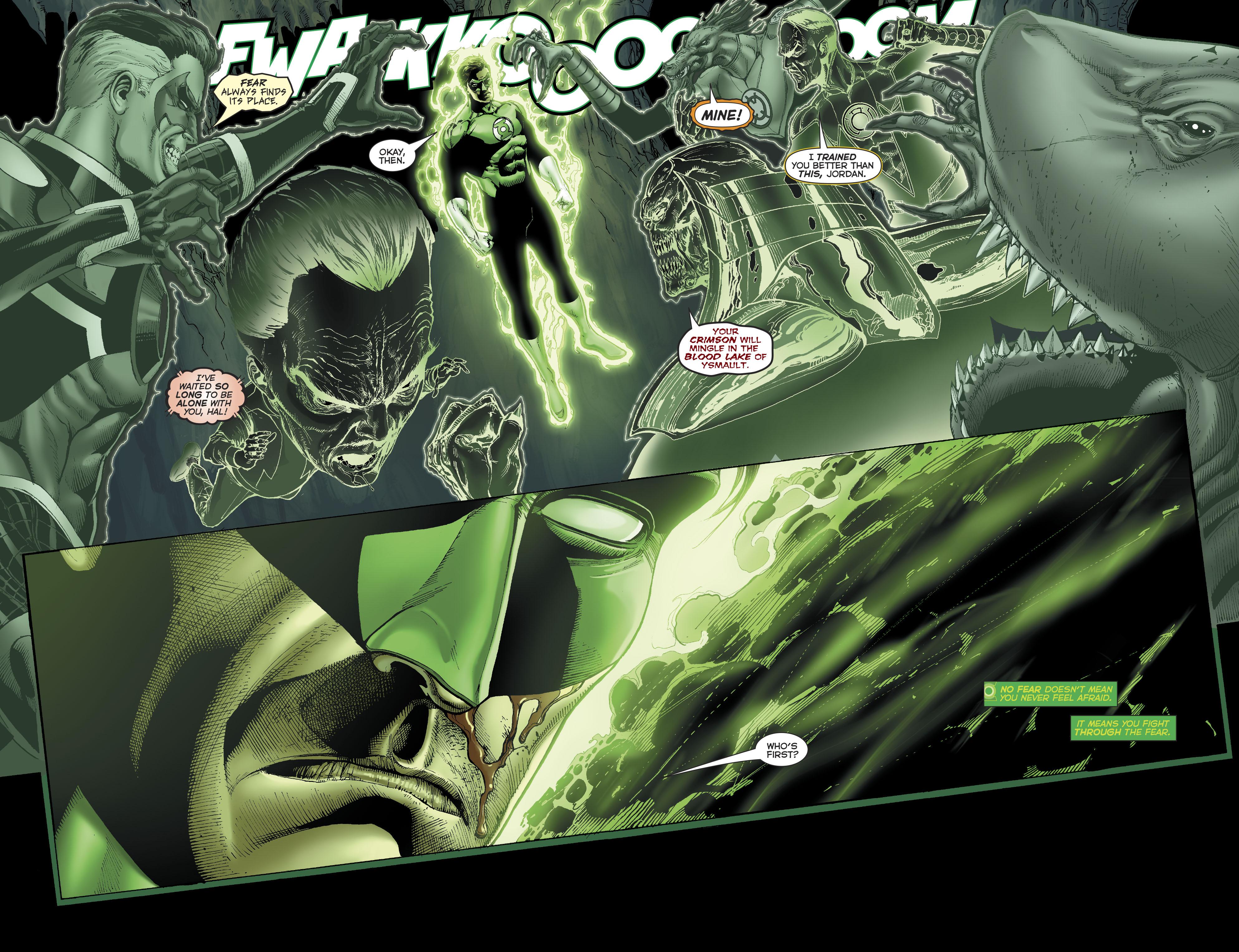 Green Lantern Hal Jordan VS The Dawnbreaker