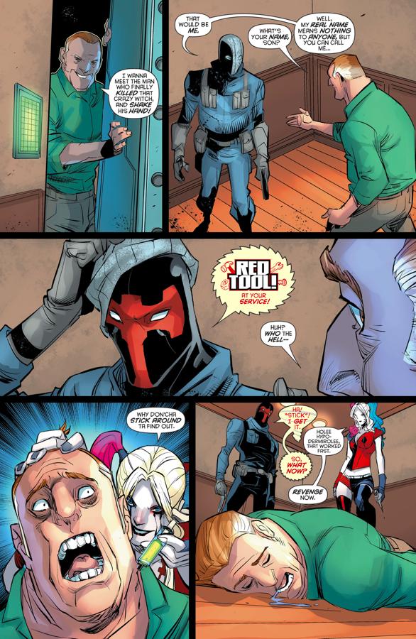 Harley Quinn's Revenge On Mayor Deperto
