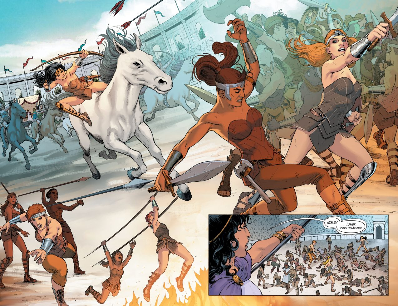 How The Amazons Selected Their Champion (Rebirth)