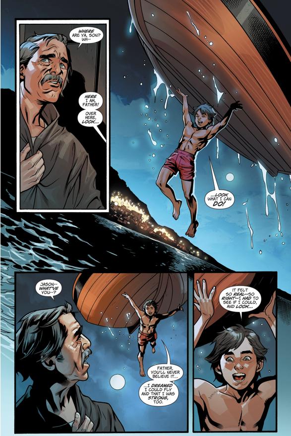 Jason Discovers His Powers (Rebirth)