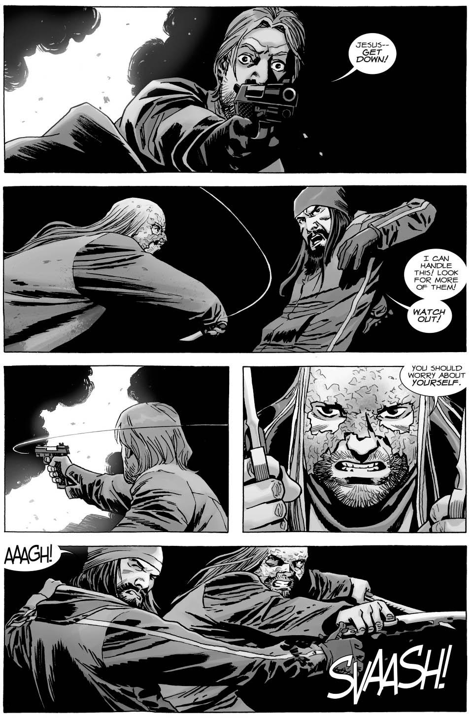 Jesus VS Beta (The Walking Dead)