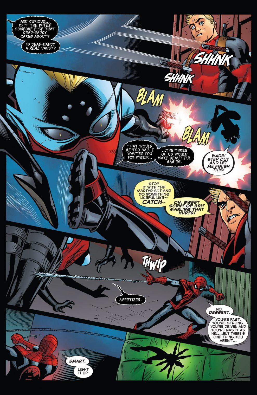 Spider-Man VS Itsy Bitsy
