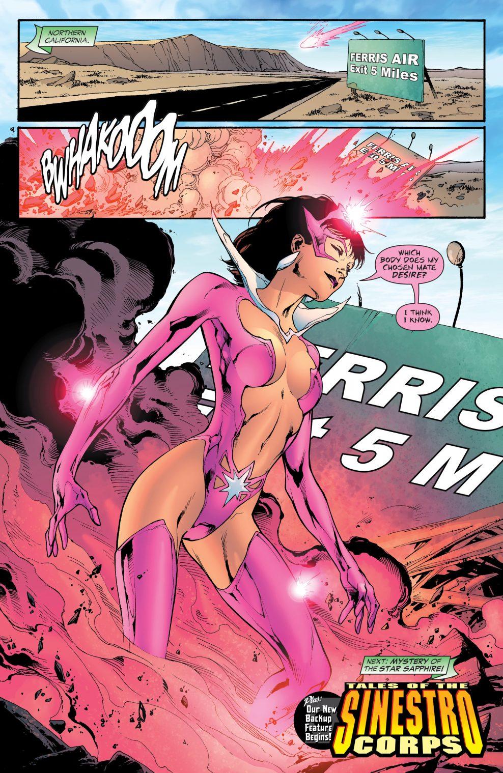 Star Sapphire (Green Lantern Vol 4 #17)