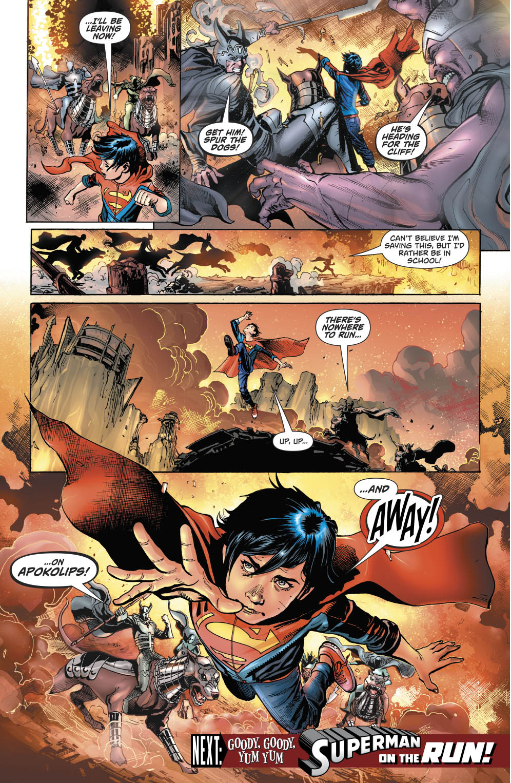 Superboy In Apokolips (Rebirth)