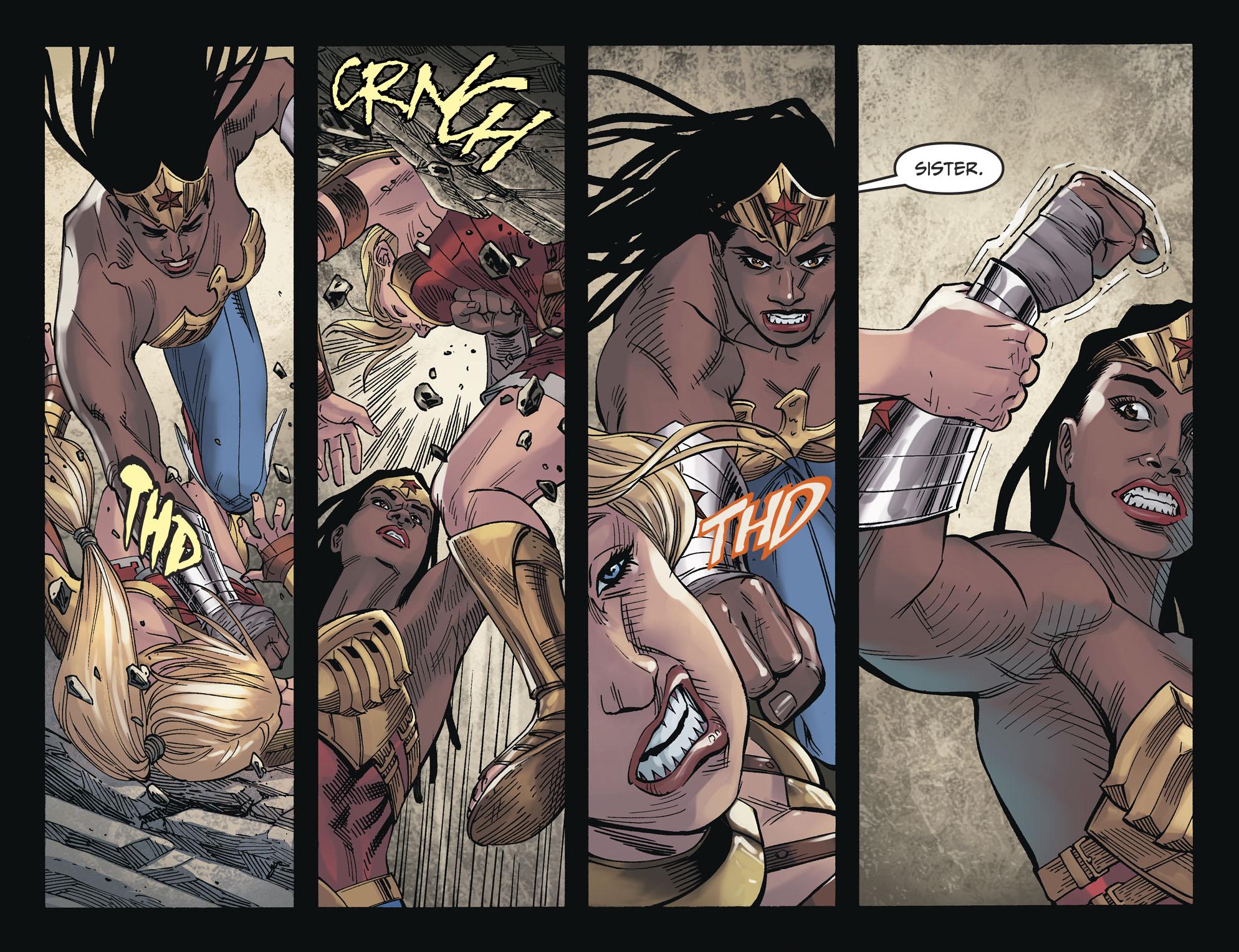 Supergirl And Wonder Woman VS Nubia (Injustice II)