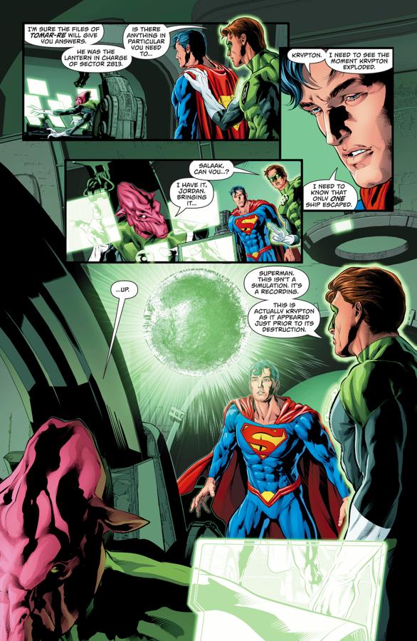 Superman Visits Mogo (Rebirth)