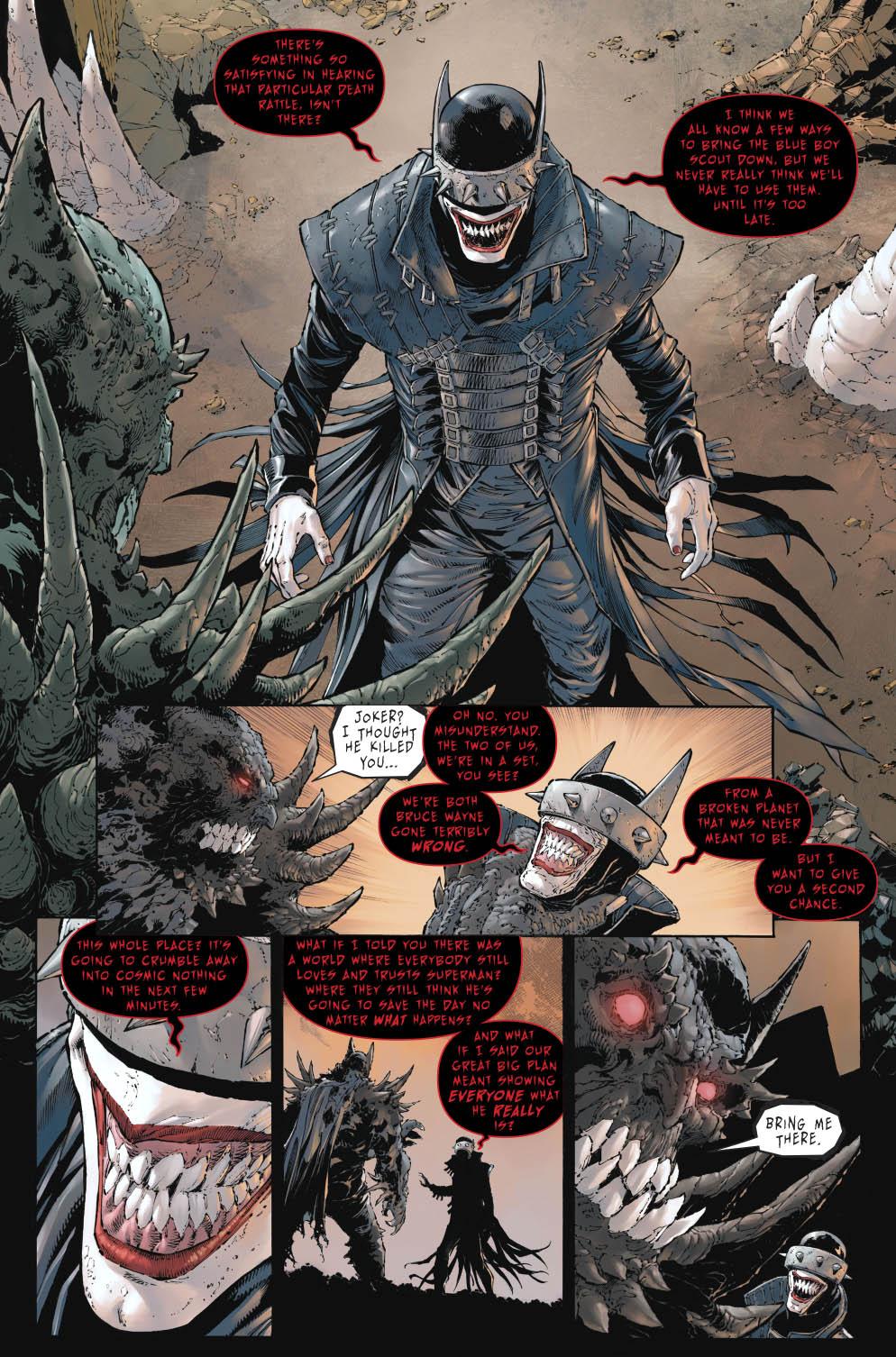 The Batman Who Laughs Recruits The Devastator 1