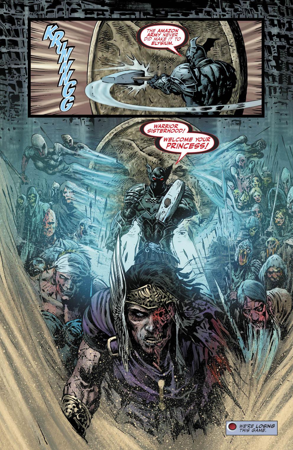 The Merciless VS Wonder Woman
