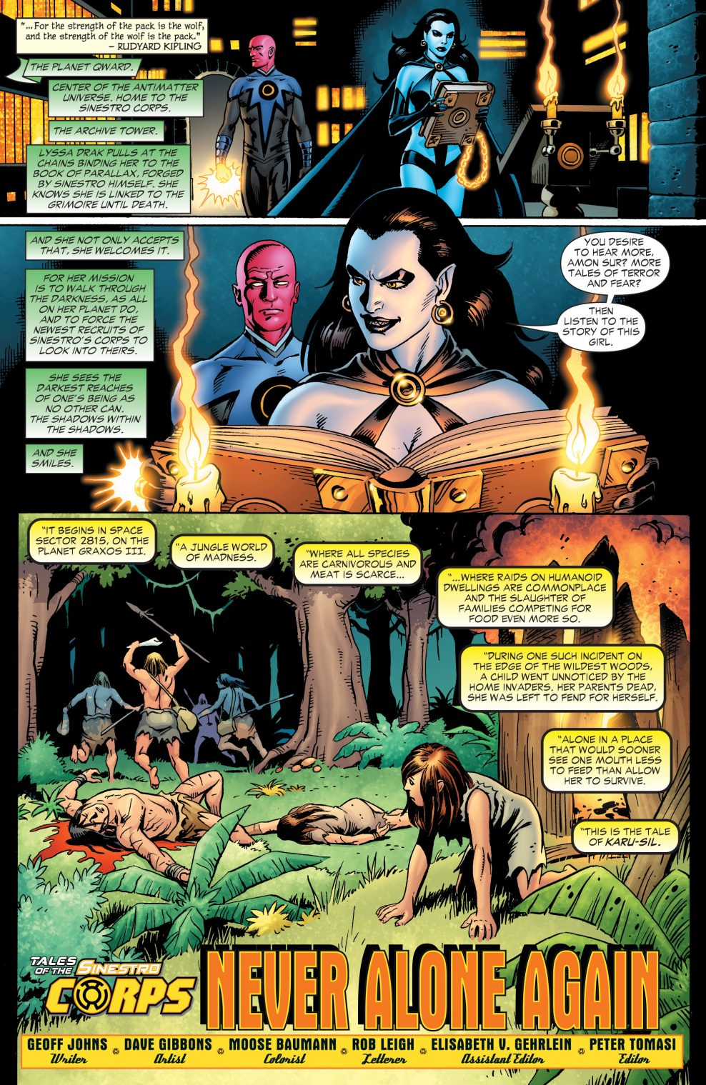 The Tale Of Sinestro Corps Member Karu-Sil