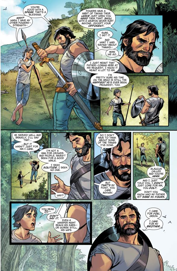 Zeus Trains Wonder Woman's Twin Brother Jason