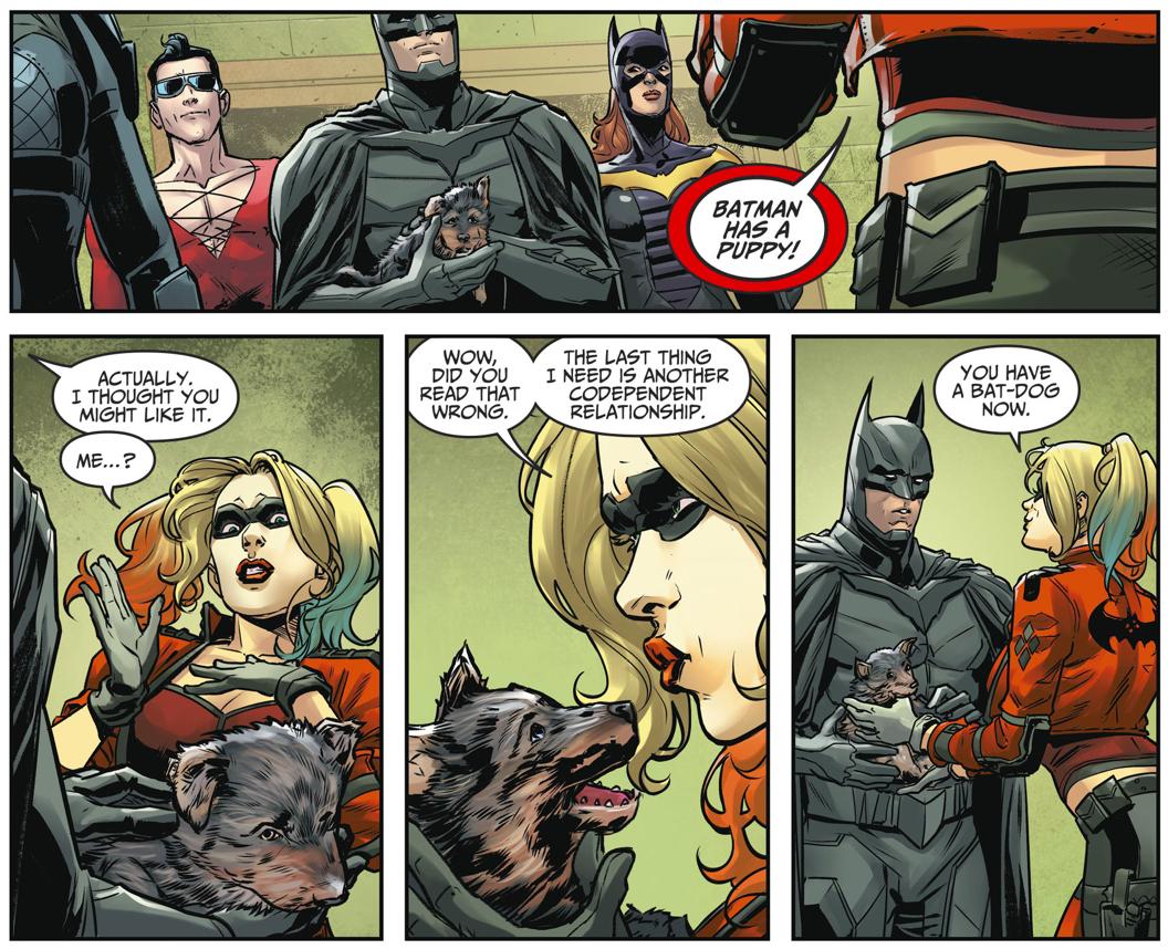 Batman Adopts Bat-Dog (Injustice II)