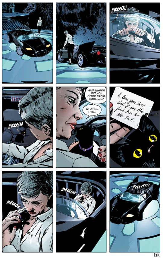 Batman And Catwoman Grow Old Together (Rebirth)