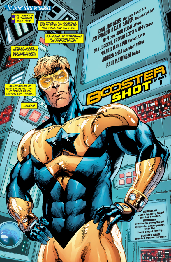 Booster Gold (Action Comics #993)