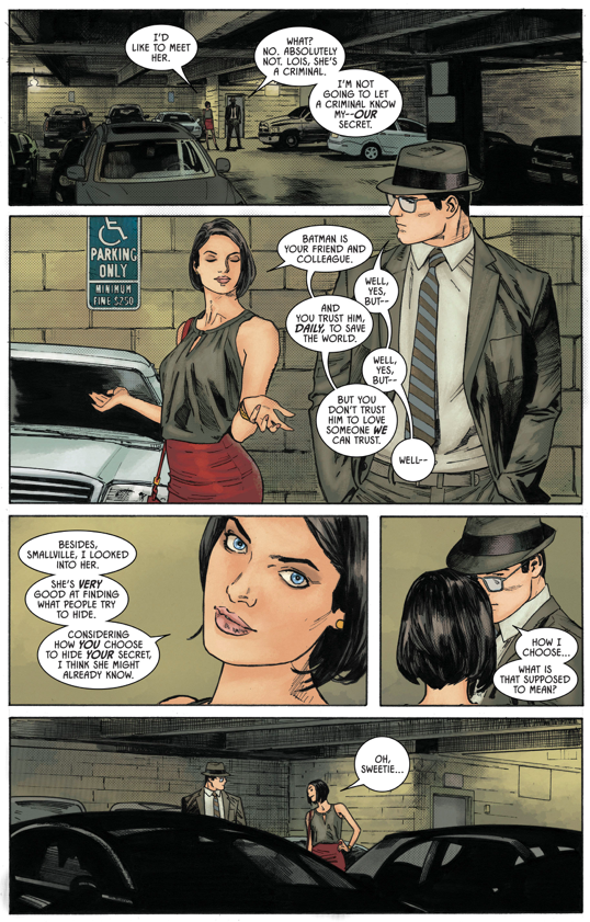 Catwoman Knows Superman Is Clark Kent (Rebirth)