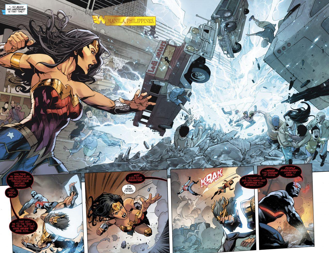 Darkseid Kills Zeus (Rebirth)