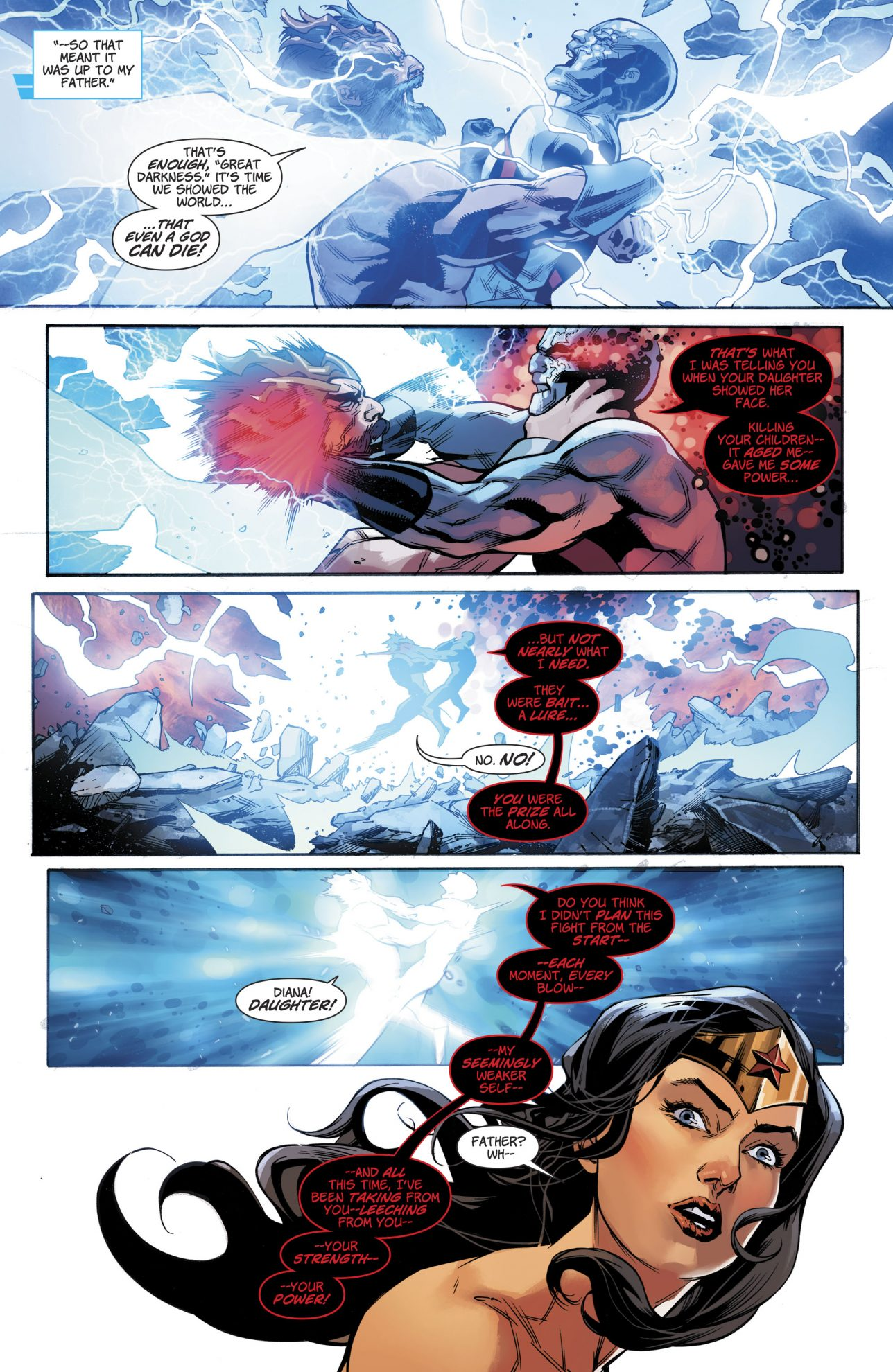 Darkseid Kills Zeus (Rebirth)