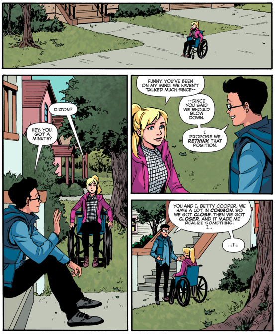 Dilton Doiley Confesses His Feelings To Betty Cooper