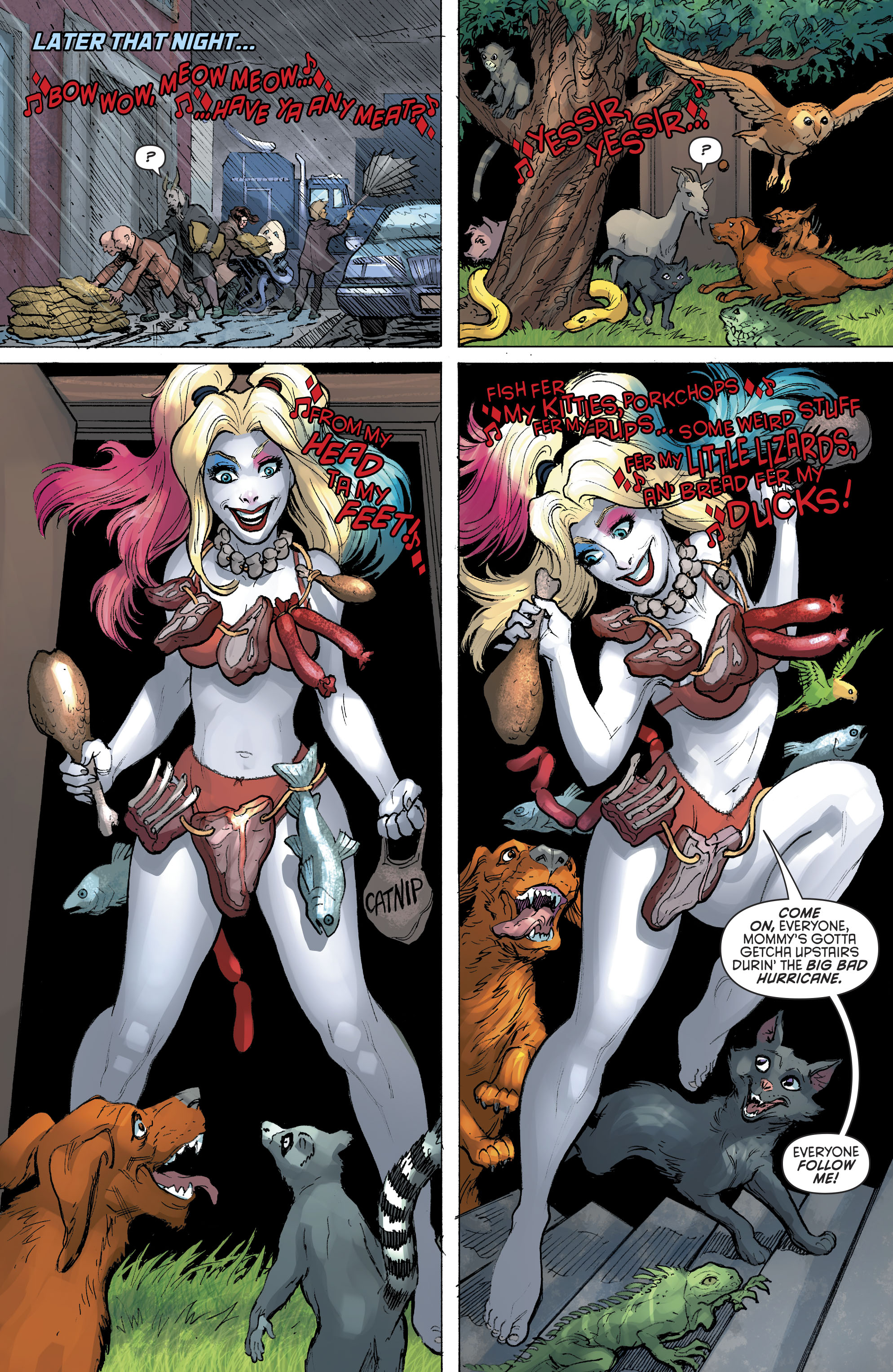Harley Quinn Vol 3 #33