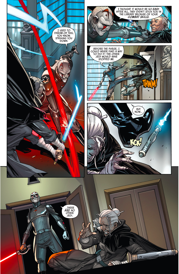 Jocasta Nu VS The Grand Inquisitor