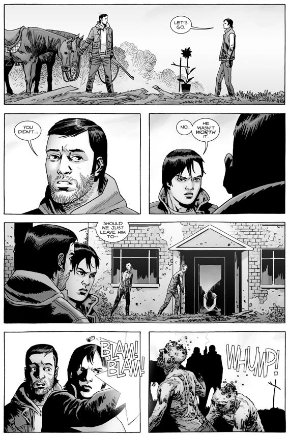 Maggie Greene Kisses Dante (The Walking Dead)