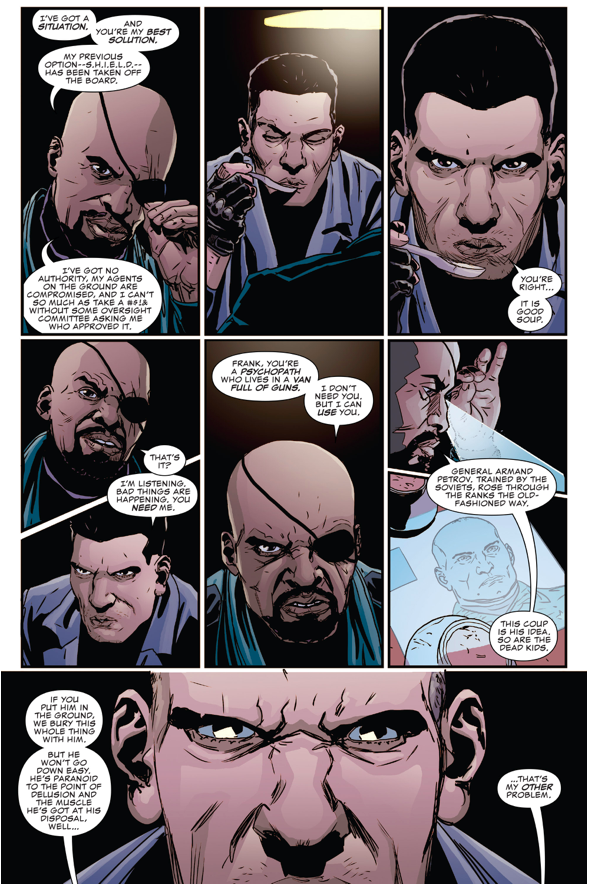 Nick Fury Jr. Recruits The Punisher