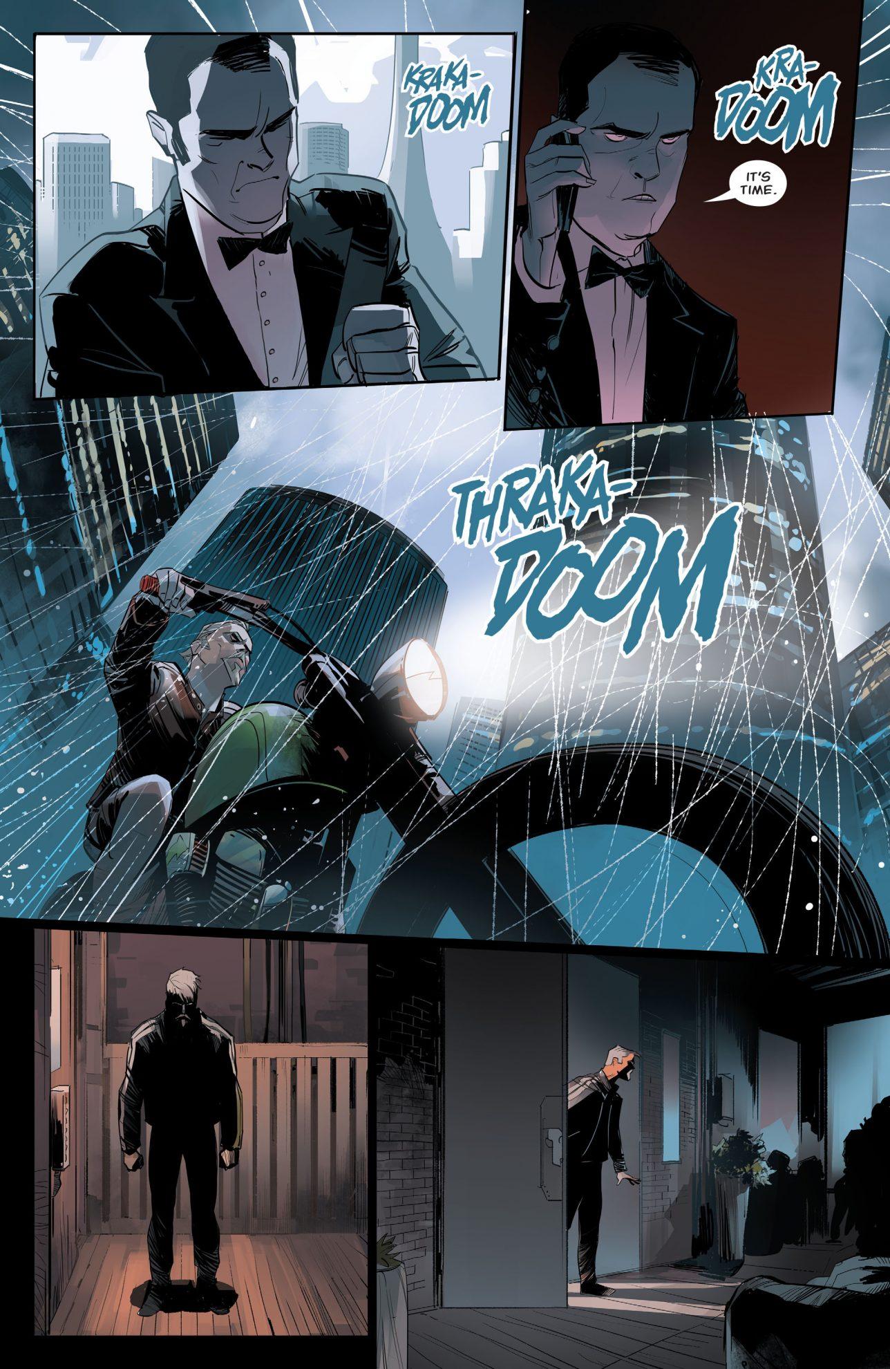 Shado Ambushes Green Arrow (Rebirth)
