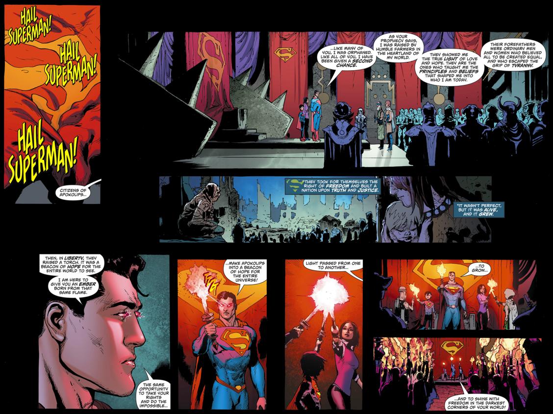 Superman Becomes Ruler Of Apokolips (Rebirth)
