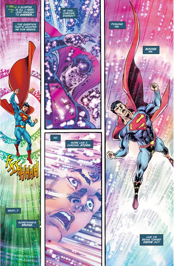 Superman Time Travels To Krypton (Rebirth)