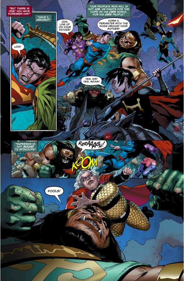 Superman's Family VS Apokolips (Rebirth)