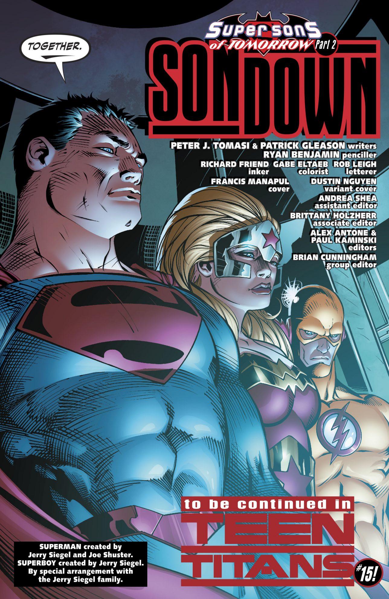Teen Titans Of Tomorrow (Rebirth)