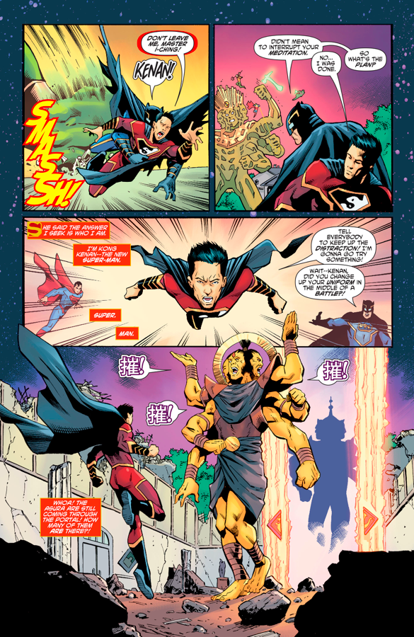 The Justice League And Justice League Of China VS Asuras