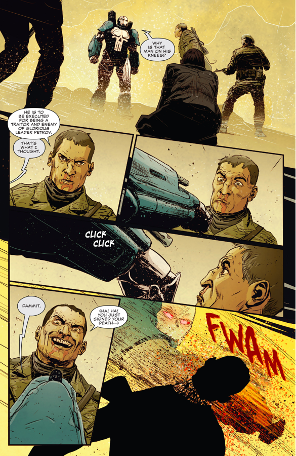 The Punisher's First Mission In The War Machine Armor