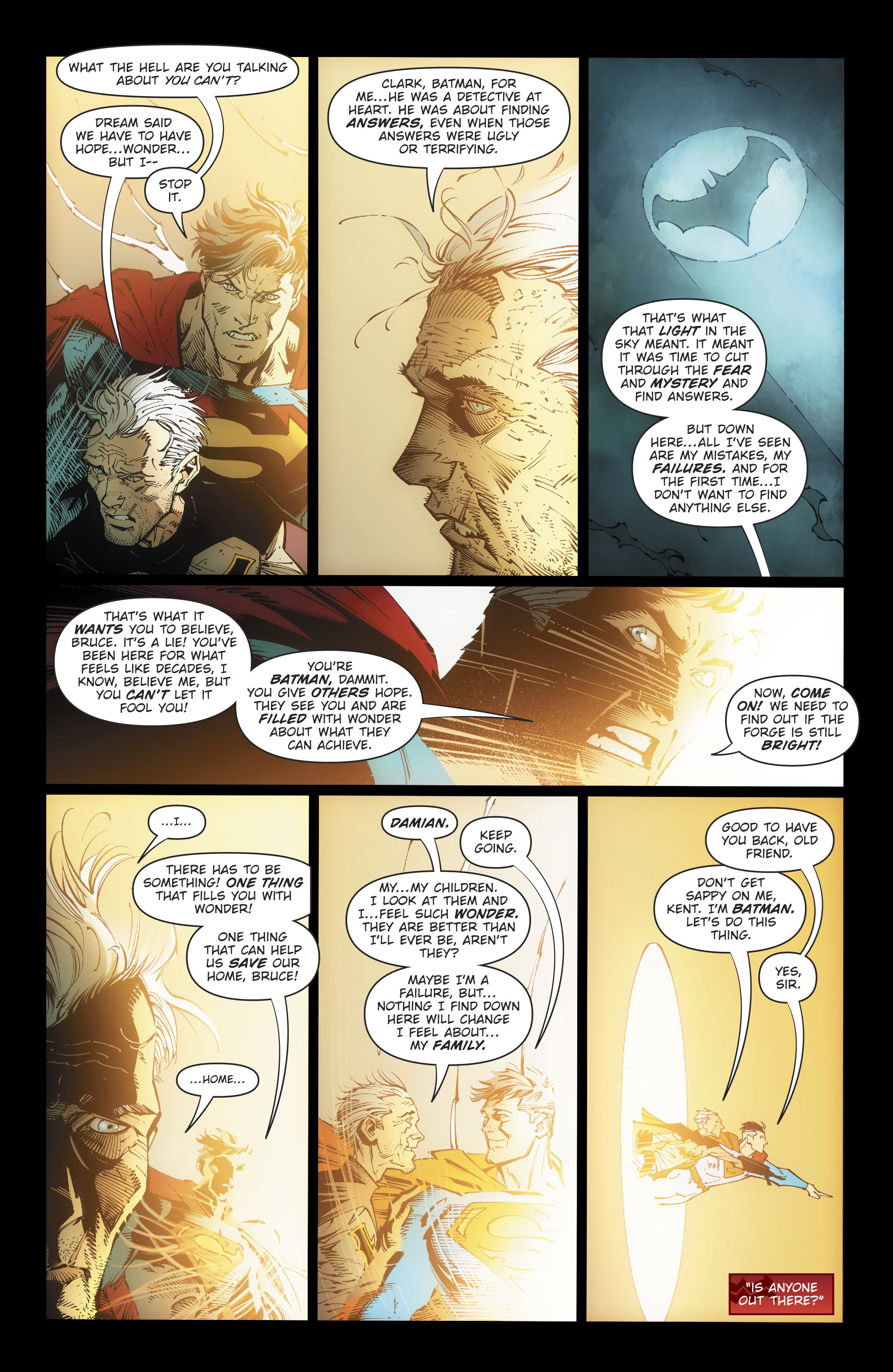 What Fills Batman With Wonder