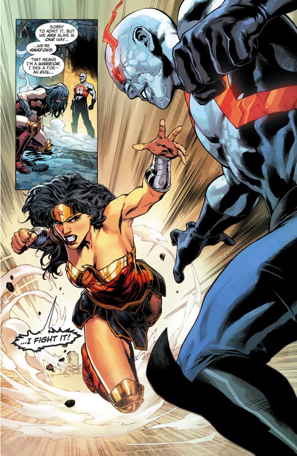Wonder Woman VS Darkseid (Rebirth)