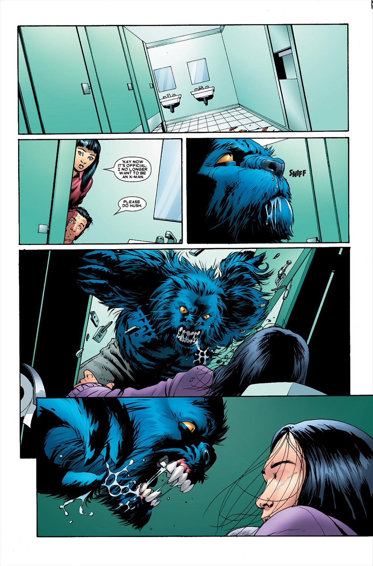 Armor VS Beast (Astonishing X-Men)