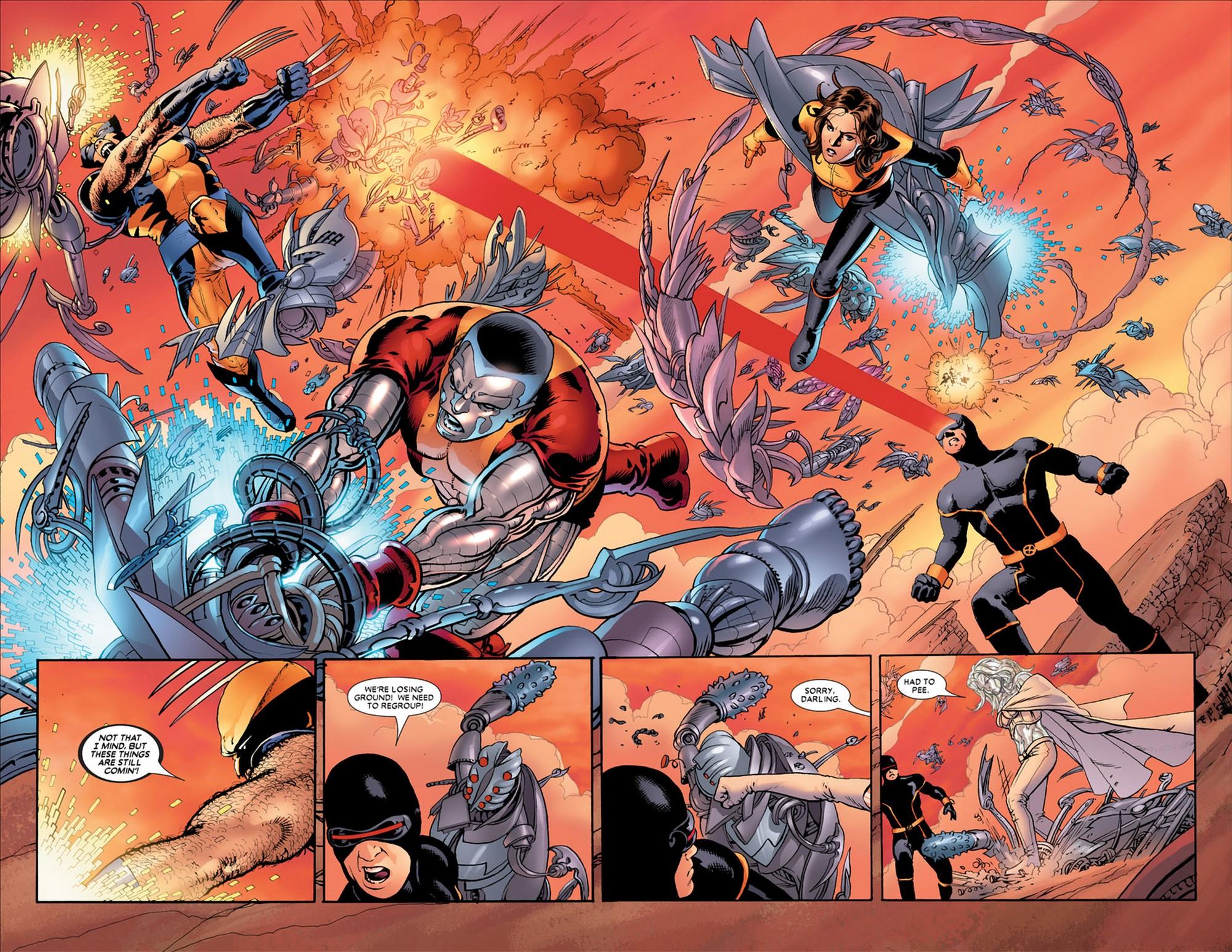 Astonishing X-Men VS Wild Sentinel 1