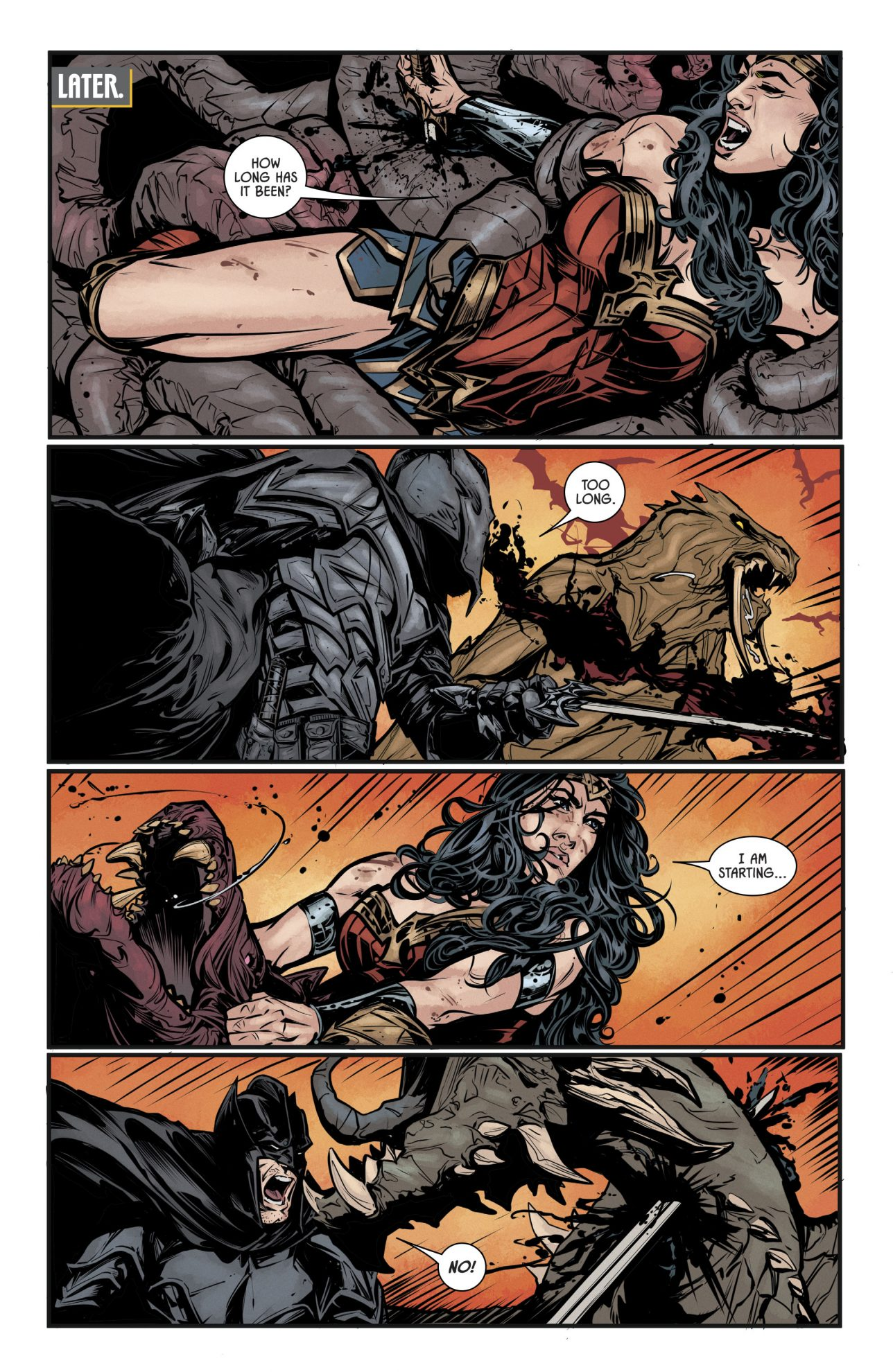 Batman And Wonder Woman VS The Hordes Of Gehenna
