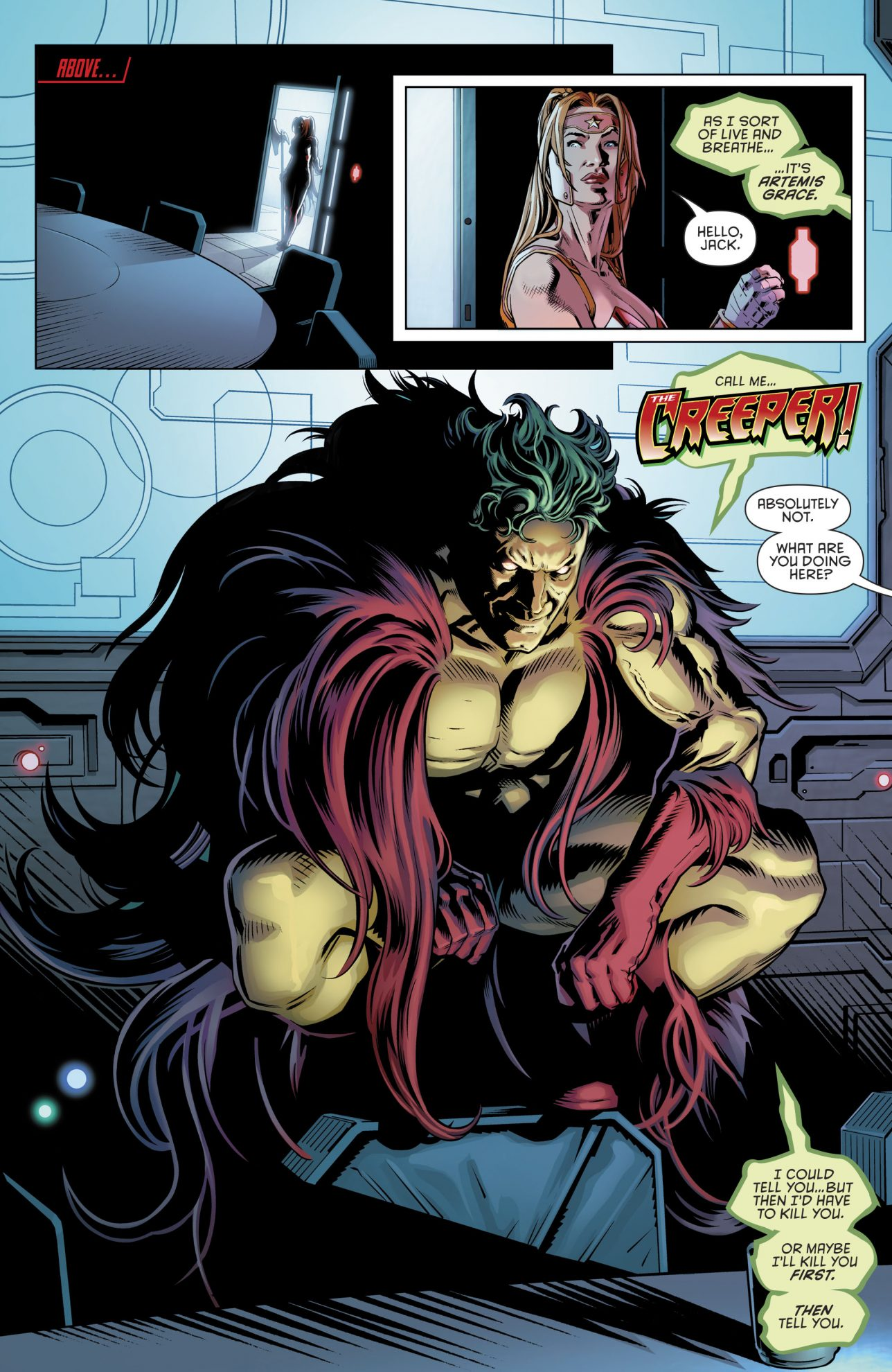 H.I.V.E. Queen (Red Hood and the Outlaws Vol. 2 #18)