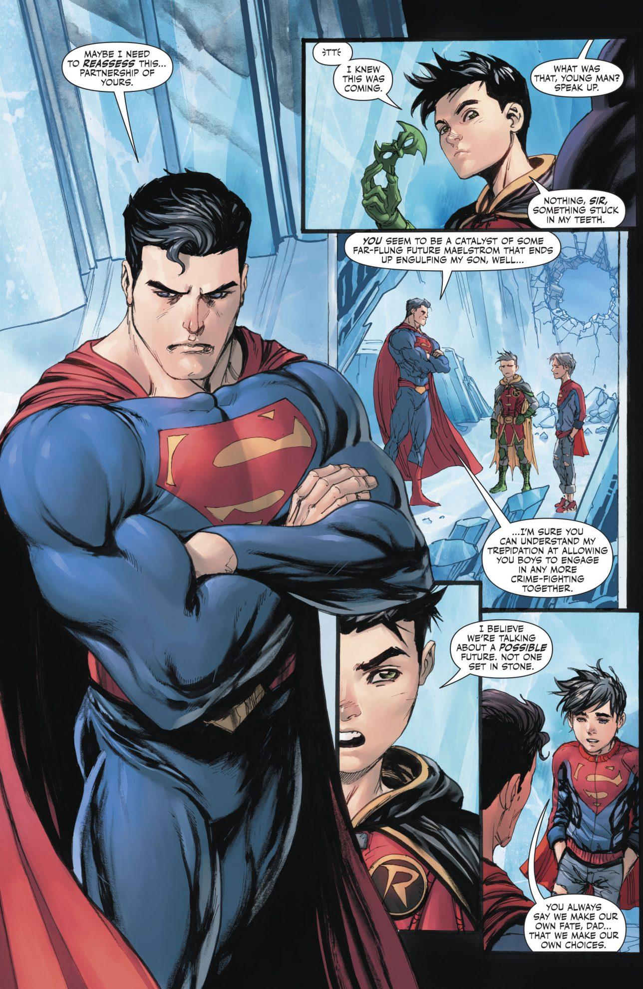 Damian Wayne's Promise To Superman (Rebirth)