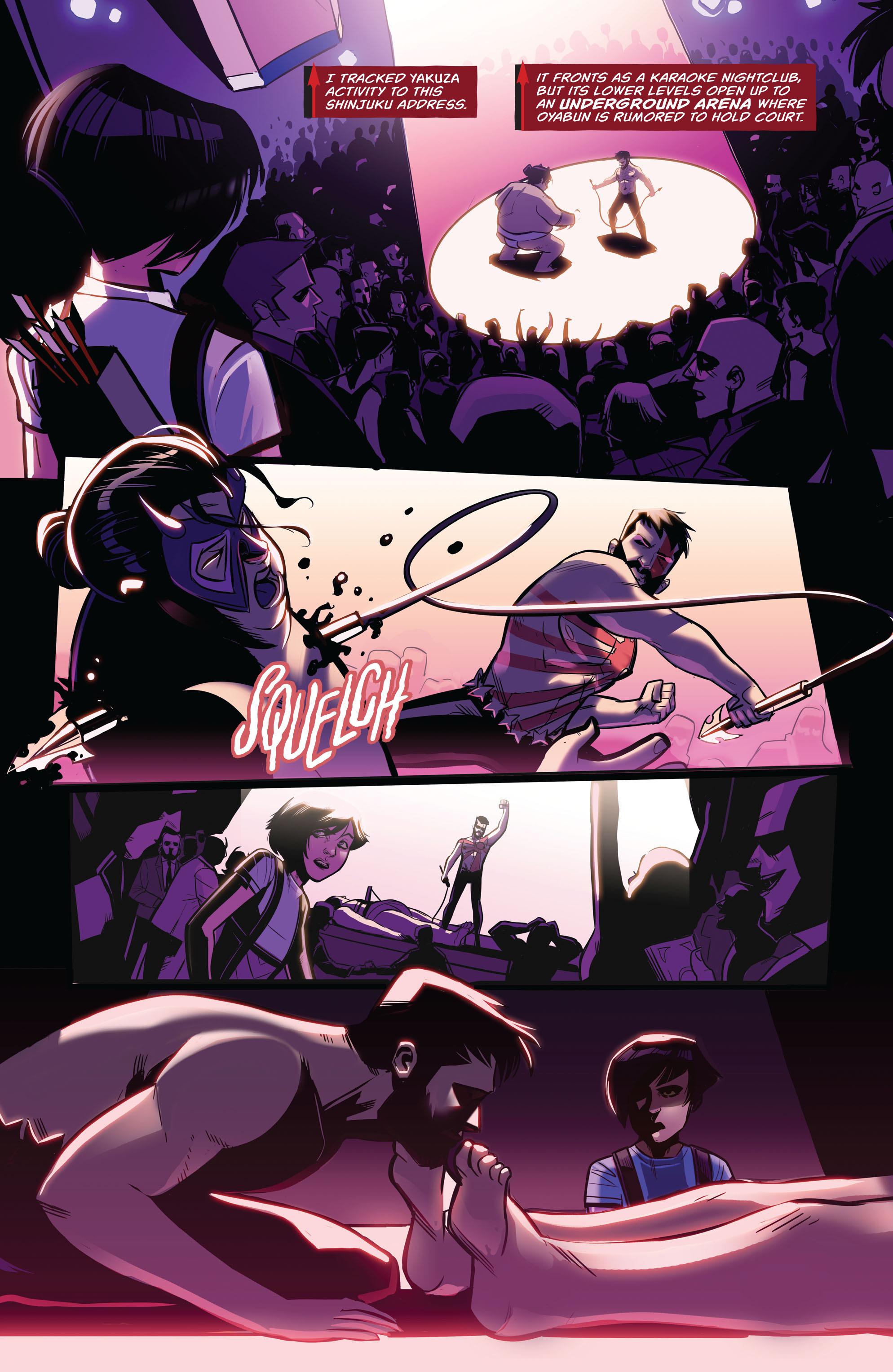 Emiko Queen Fights In The Yakuza Underground Arena
