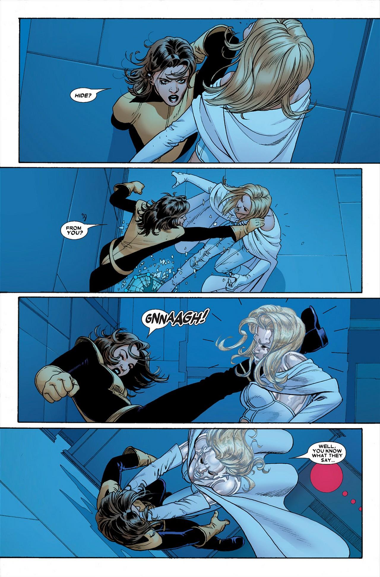 Emma Frost VS Kitty Pryde (Astonishing X-Men)
