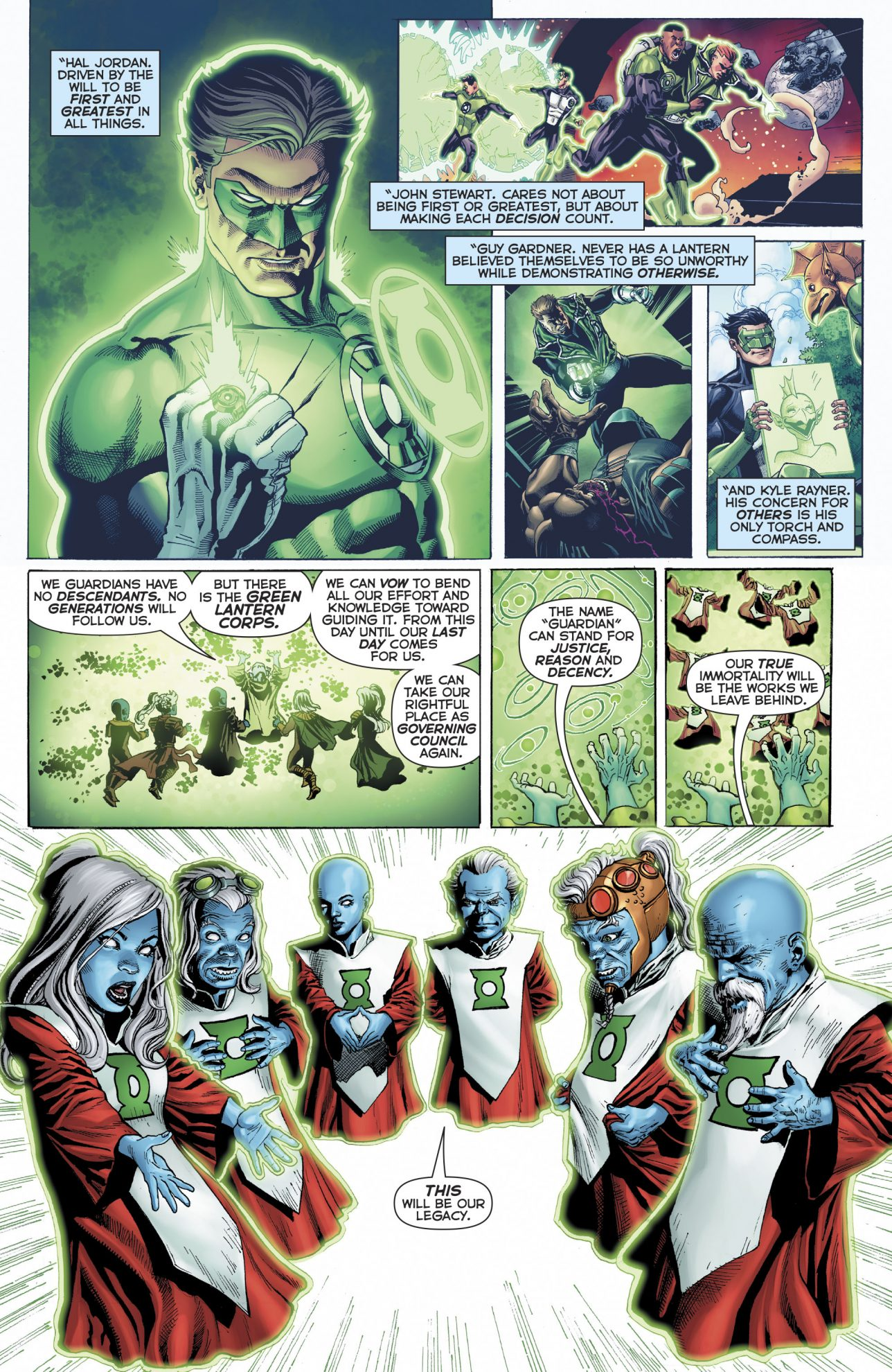Ganthet Reforms The Guardians Of The Universe