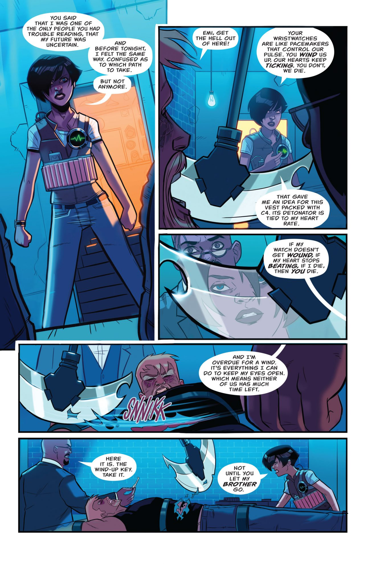 How Emiko Queen Defeated The Clock King (Rebirth)