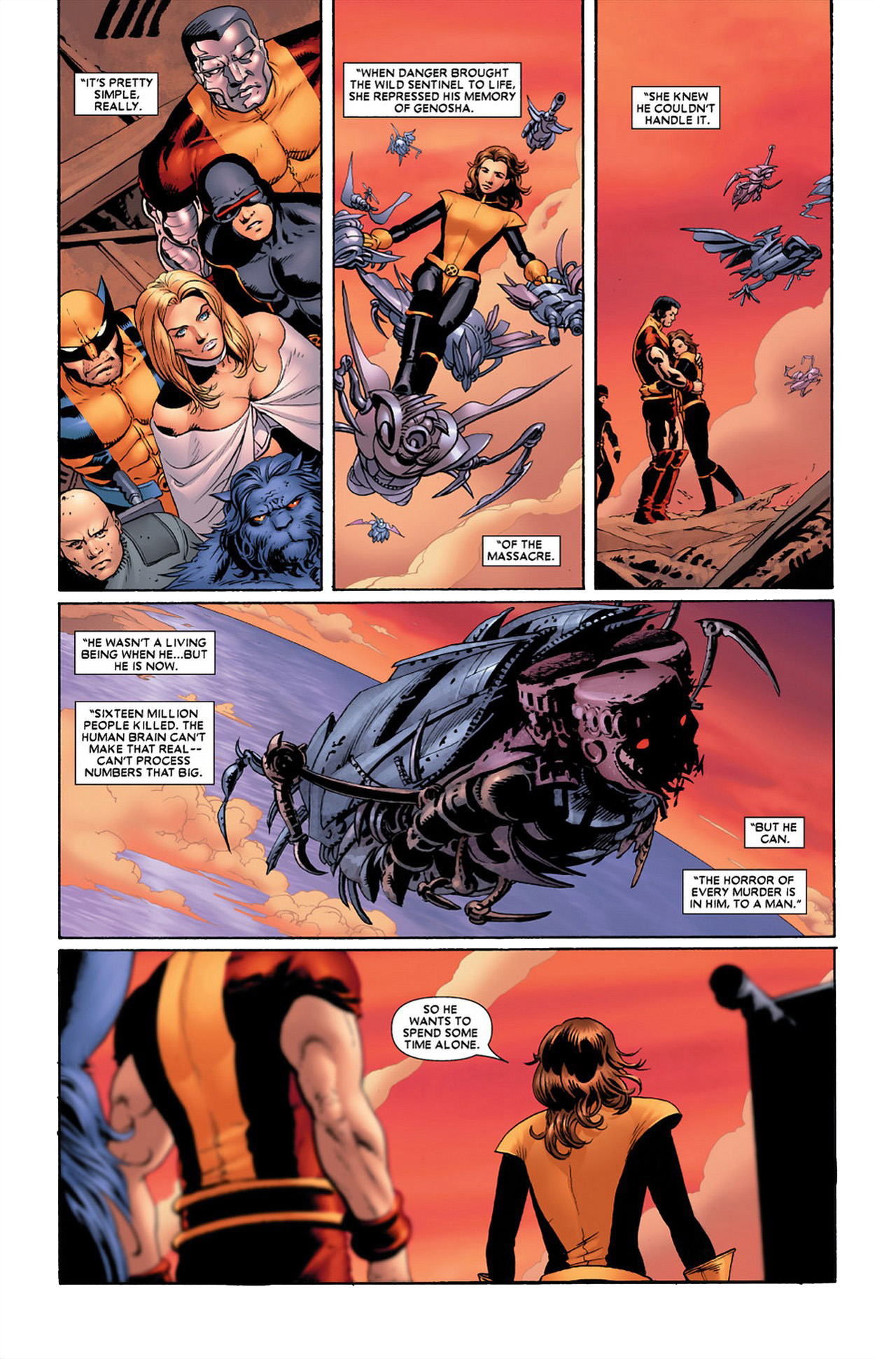 How Kitty Pryde Defeated The Wild Sentinel