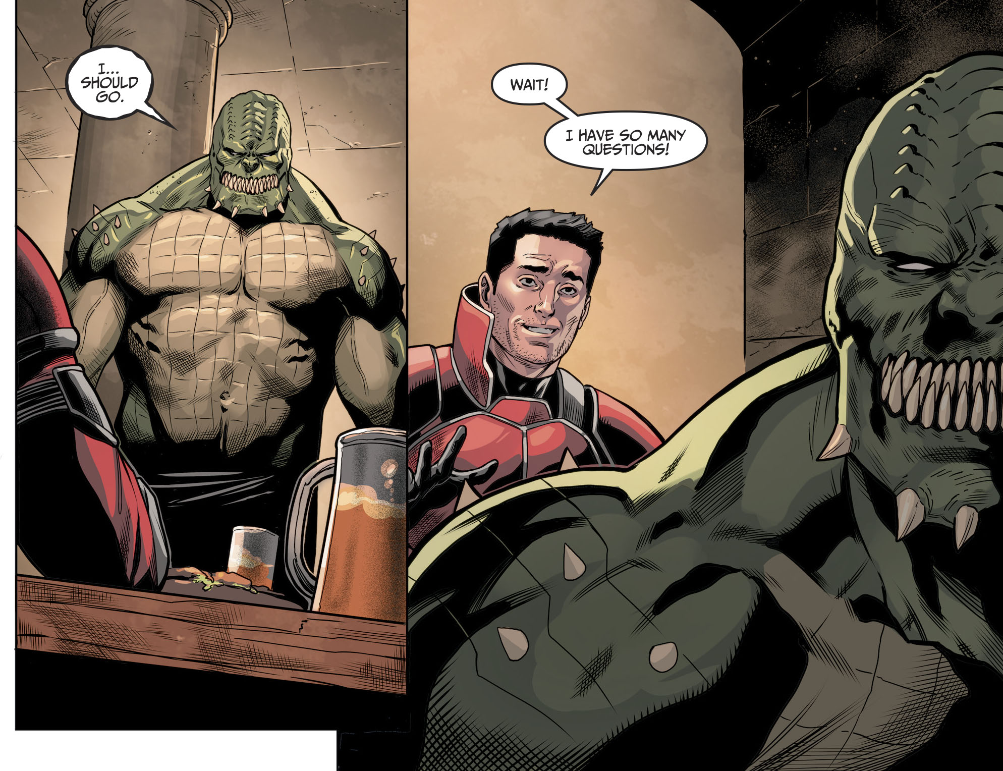 Killer Croc And Orca Are Having A Baby (Injustice II)