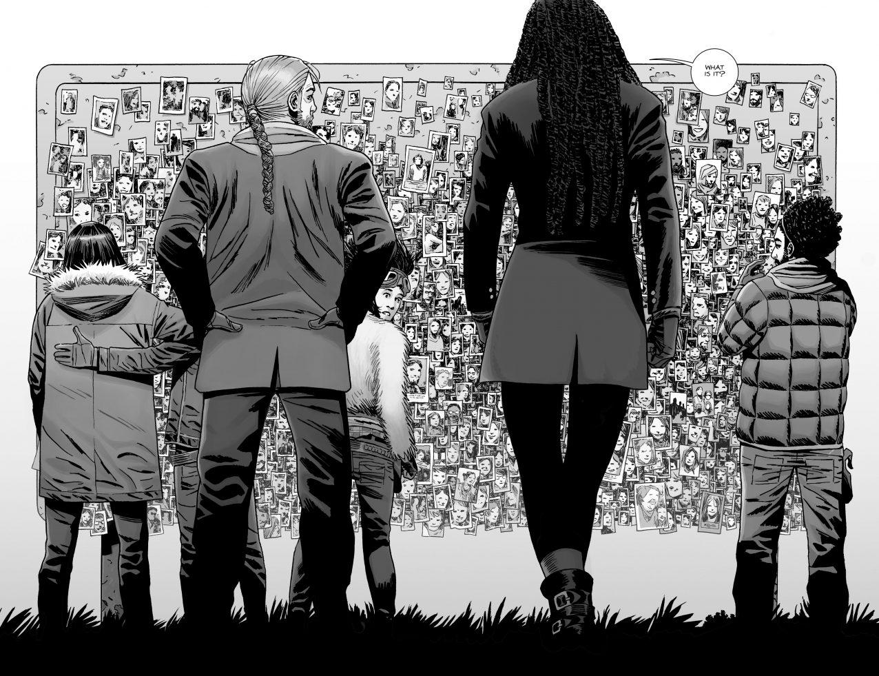Michonne Has A Kid (The Walking Dead)