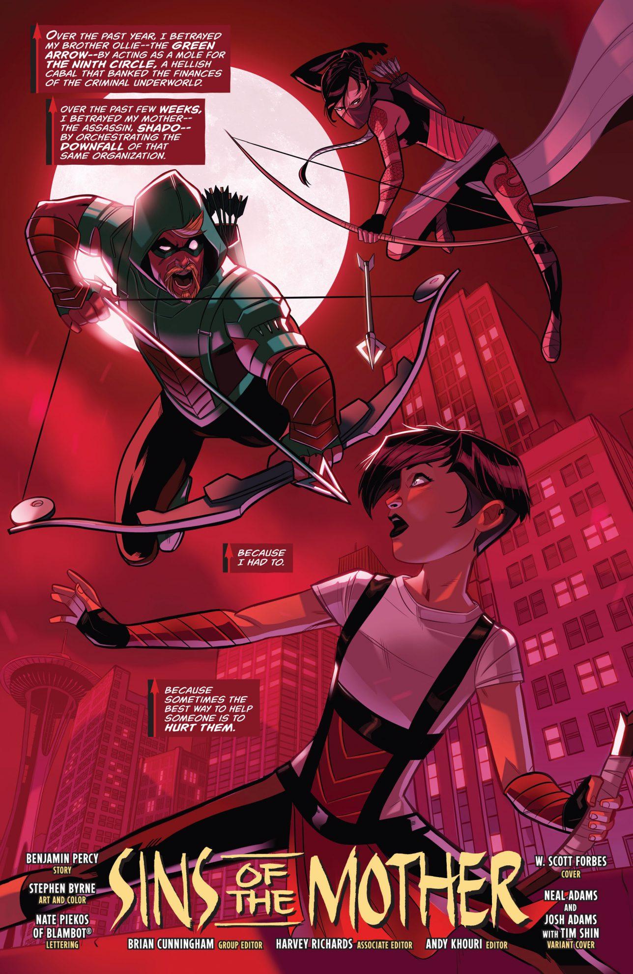 Oliver And Emiko Queen (Green Arrow Vol 6 #6)