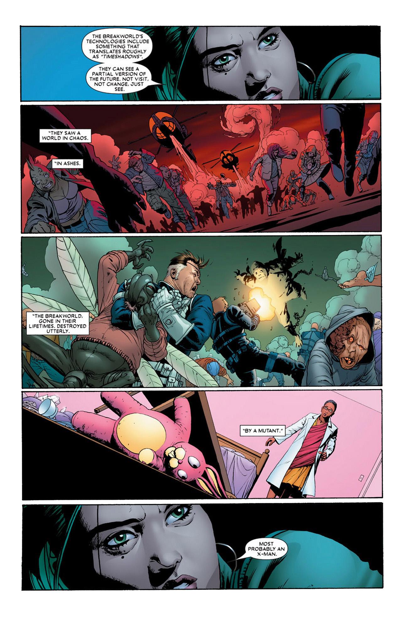Prophecy Of An X-Man Who Will Destroy Breakworld