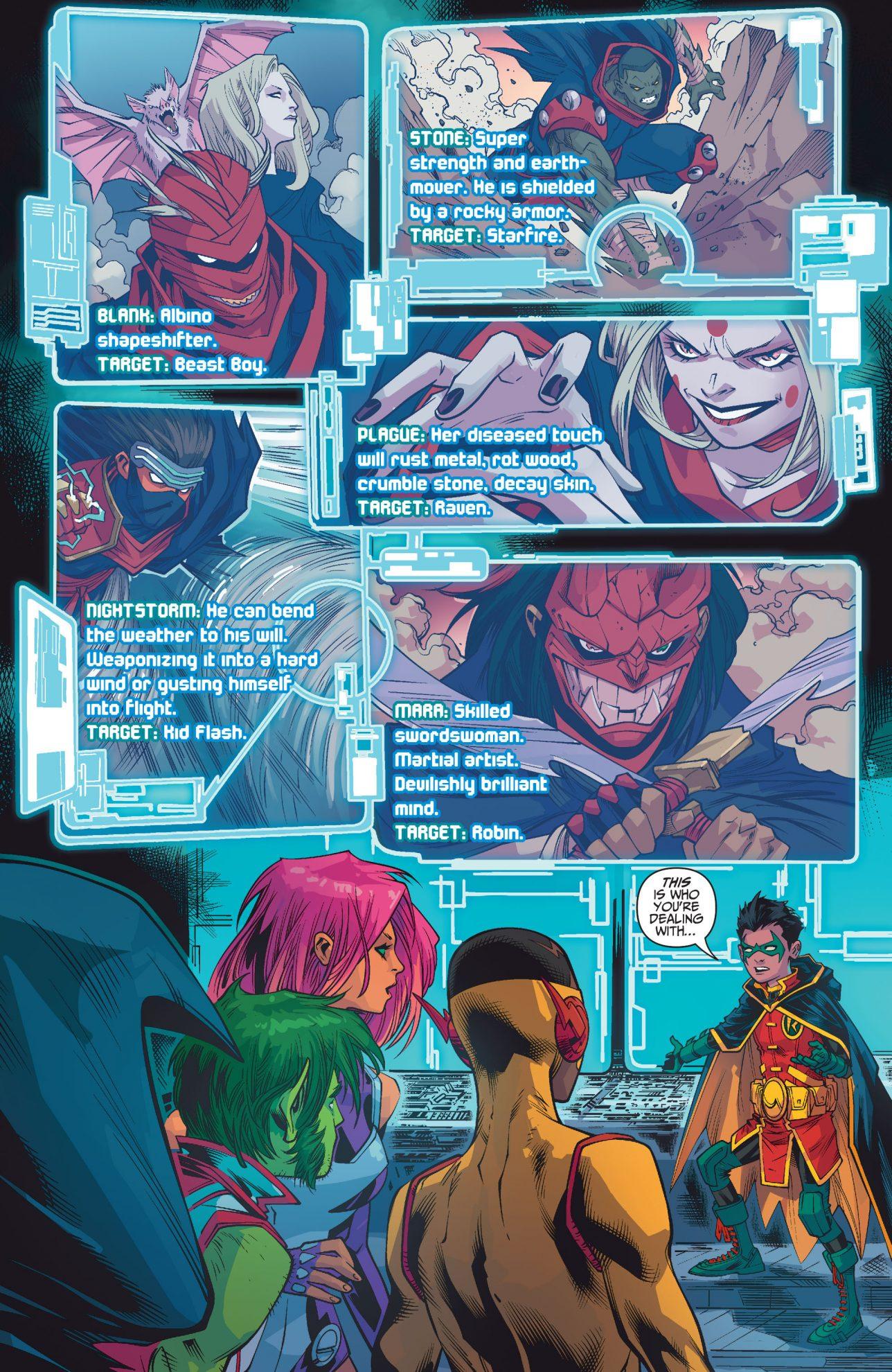Robin Describes The Demon's Fist