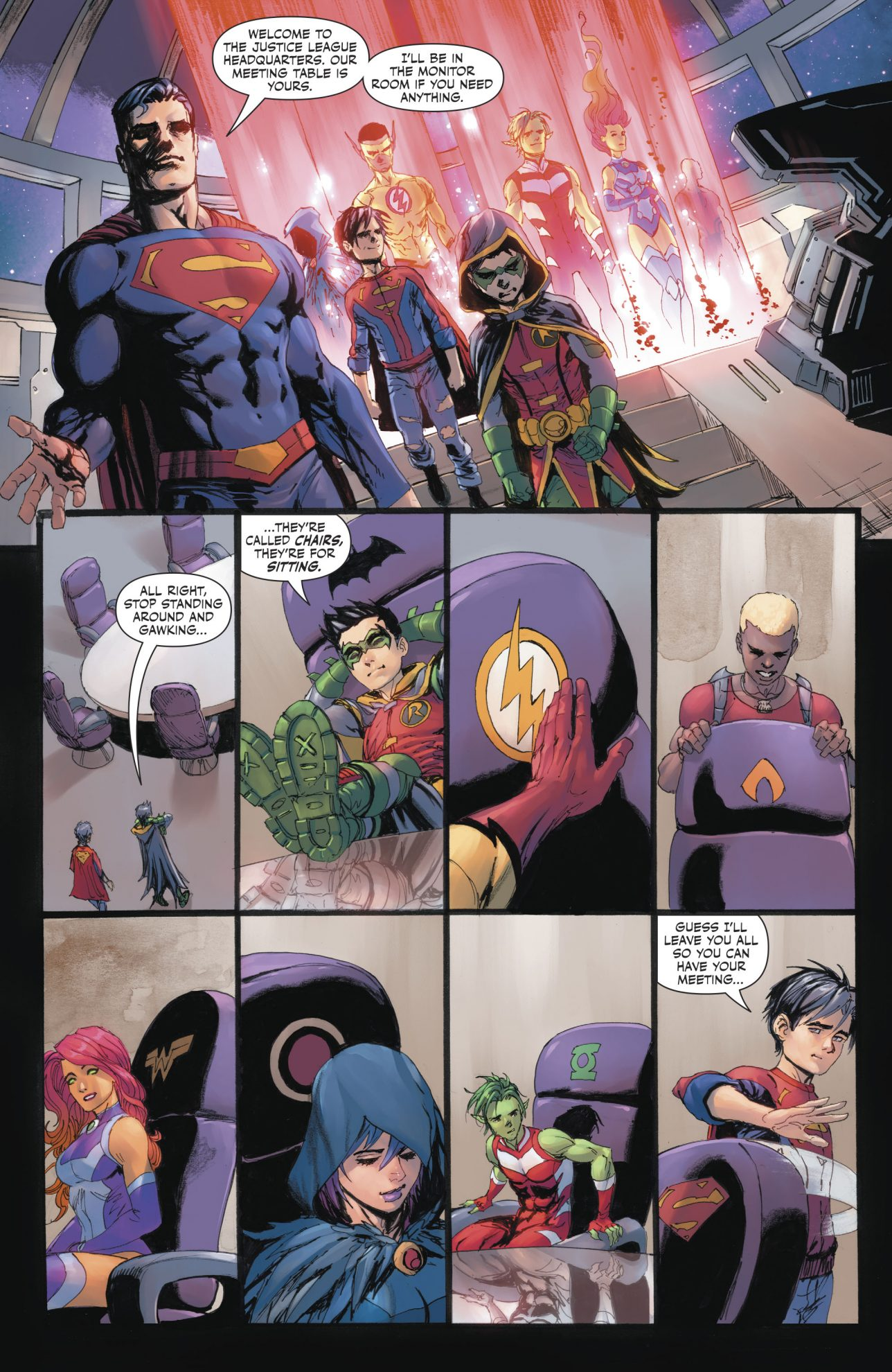 Teen Titans Vote For Superboy's Membership